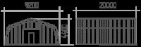 Арка (профиль А) 9.2х20х4.4