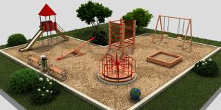 Благоустройство на детских площадках