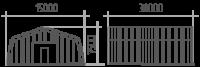 Арка (профиль А) 15х30х7.5
