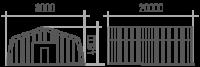 Арка (профиль А) 8х20х4.8