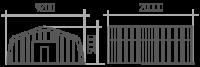 Арка (профиль А) 9.2х20х5